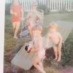 me, jamie, liz and max 1978